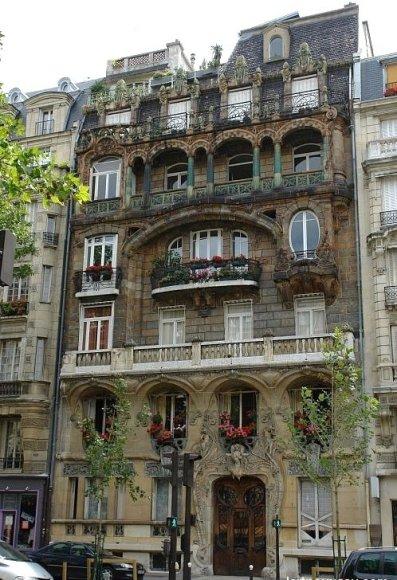 Immeuble du 29 avenue rapp paris 7e jules lavirotte architecte - Immeuble vegetal ...