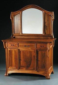 Eugene vallin for Meuble art nouveau