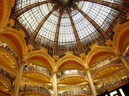 Ferdinand Chanut Dome En Verre Des Galerie Lafayette