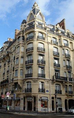 Th o petit architecte du 132 rue de courcelles paris 17e - Salon wagram paris 17 ...