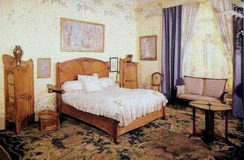 Chambres coucher art nouveau for Chambre a coucher nouveau modele