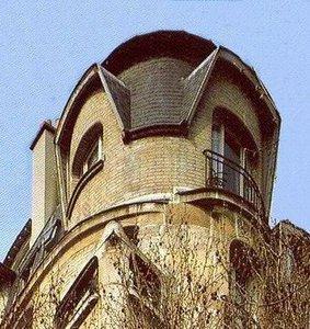 Fenetres et bacons d 39 hector guimard for Art nouveau fenetre