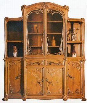 meubles art nouveau. Black Bedroom Furniture Sets. Home Design Ideas